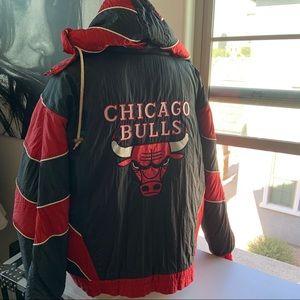 90s Vintage Chicago Bulls Jacket Pro Player